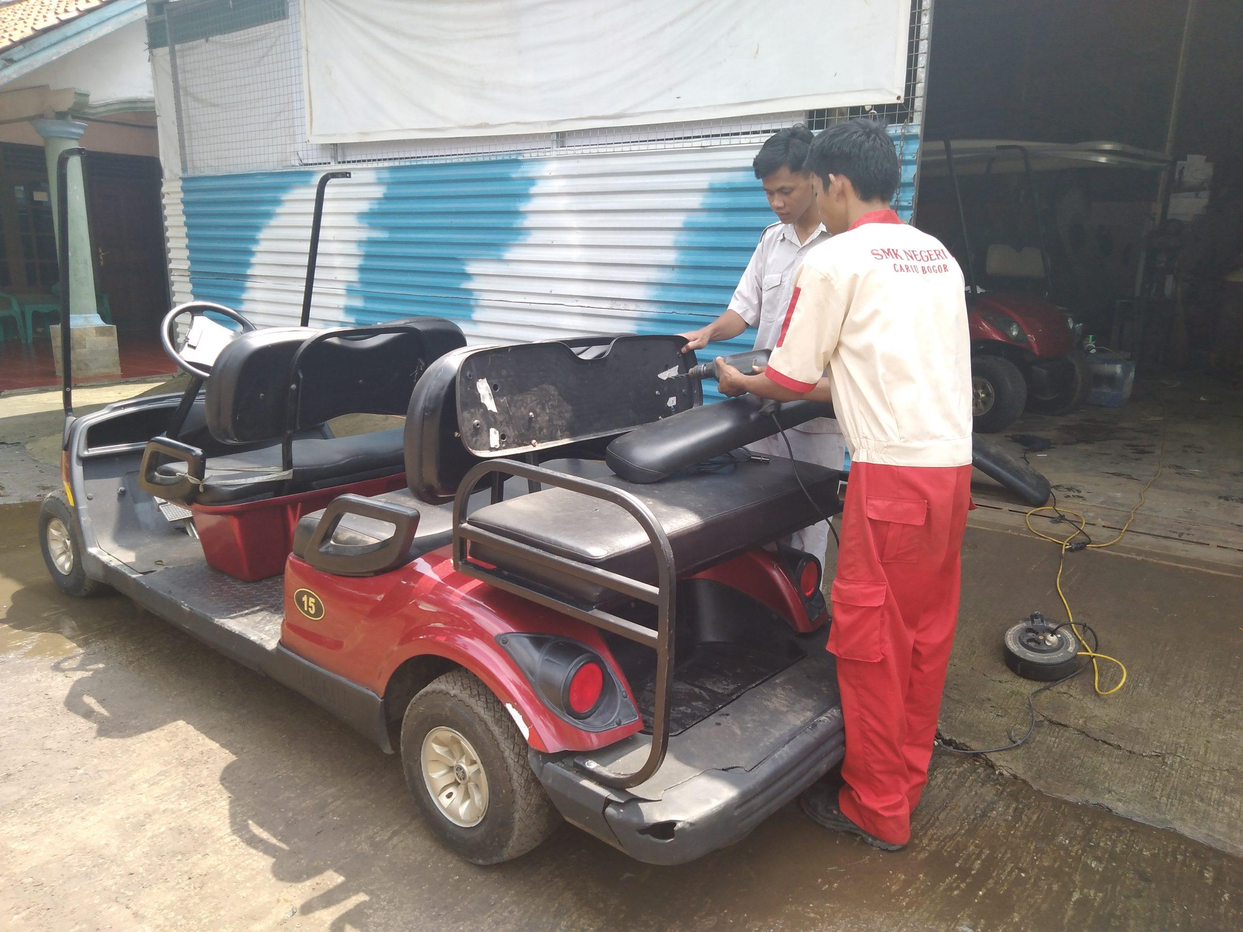 Jasa Service Golf Cart
