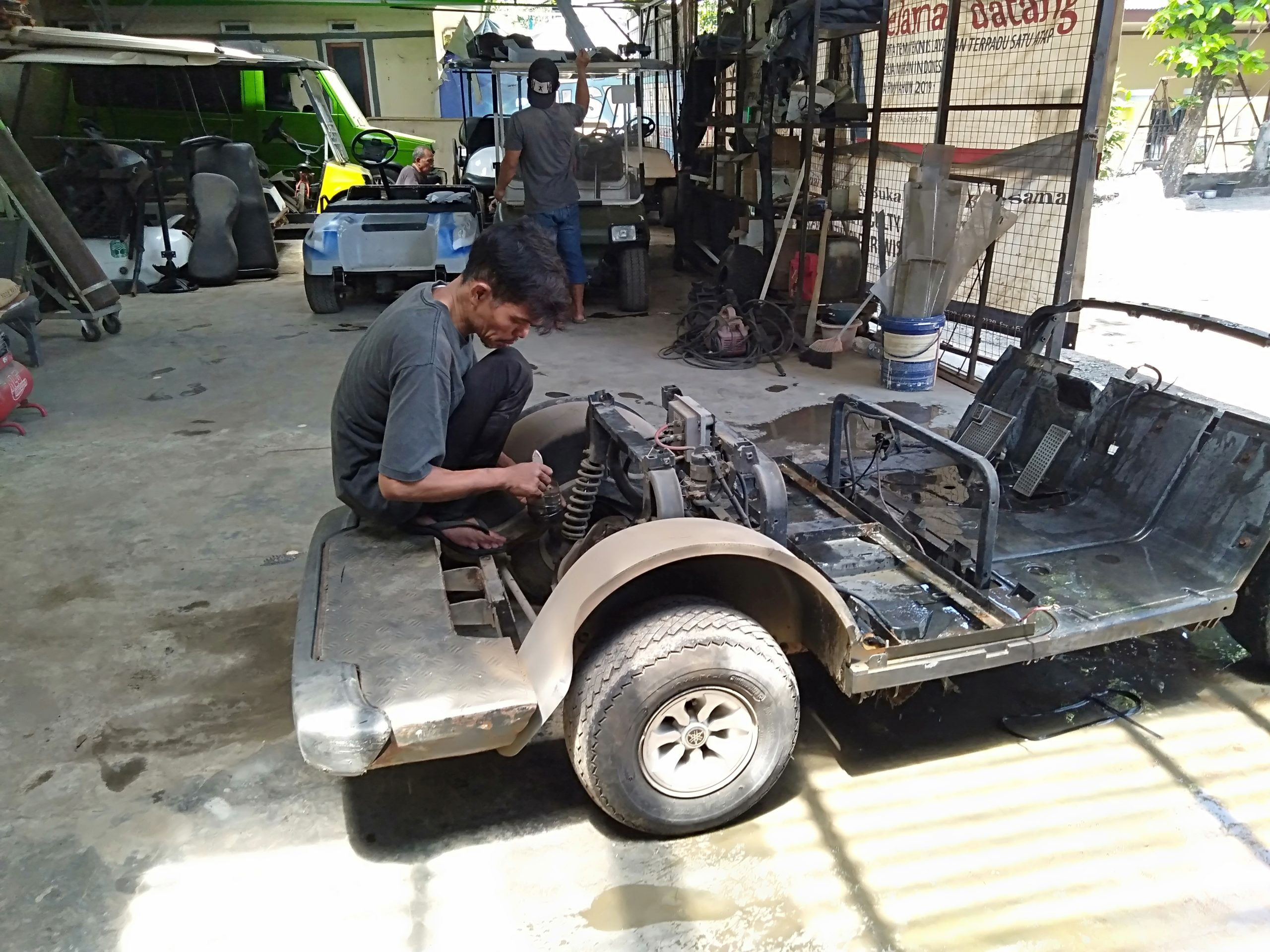 Jasa Repair Golf Cart